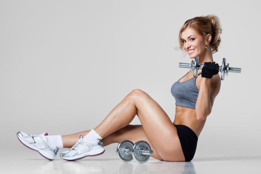 A Mulher e a Musculação